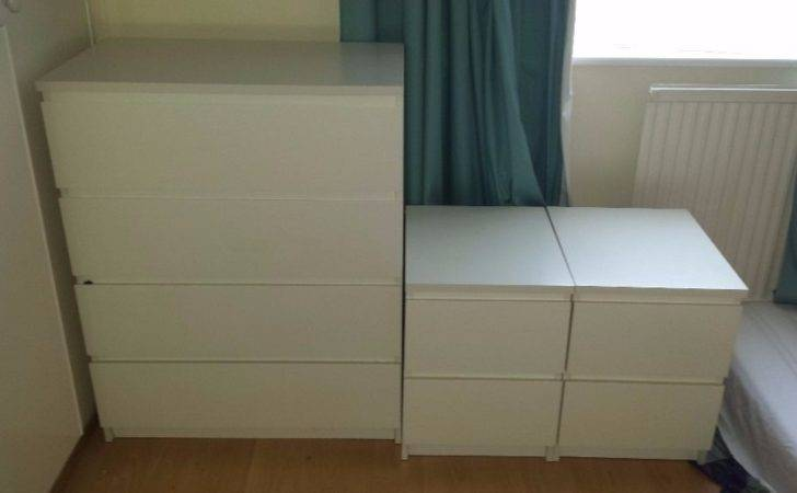 Moving Must Sell Ikea Malm White Drawer Chest