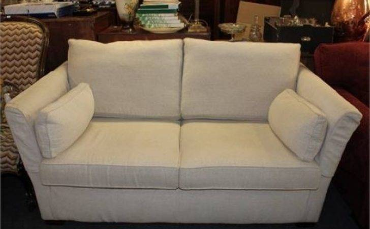 Multi York Sofa Bed Oatmeal Loose Cover Two