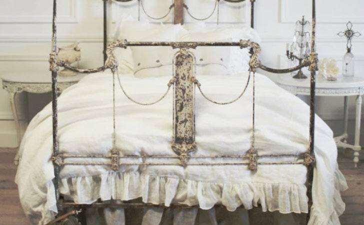 Must Have Shabby Chic Item Wrought Bed Inspiration