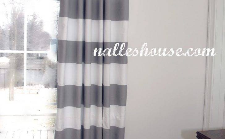 Nalle House Master Bedroom Progress Curtains