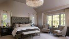 Napa Chic Transitional Master Bedroom