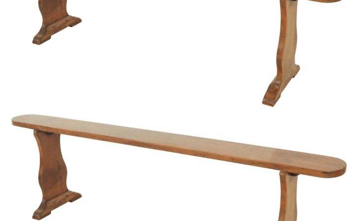 Narrow Bench Dutch Style Legs Two Available