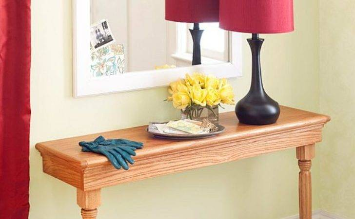 Narrow Console Tables Their Extreme Versatility
