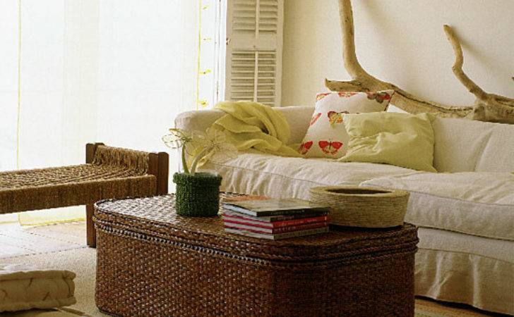 Natural Living Room Decorating Ideas Ideal Home
