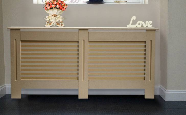 Natural Mdf Radiator Cover Wall Cabinet Home