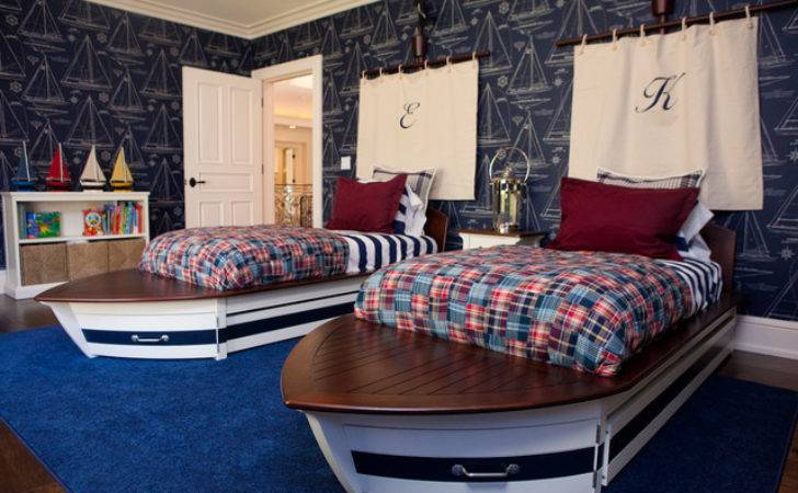 Nautical Themed Boys Room Eclectic Kids Los Angeles