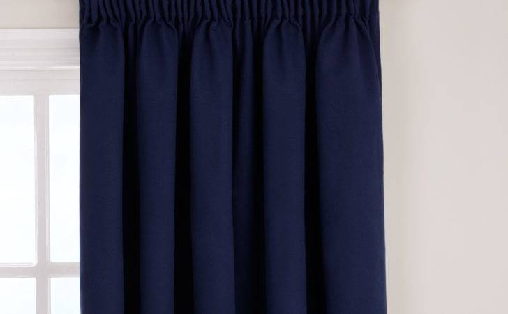Navy Blackout Curtains Eyelet Home Design Ideas