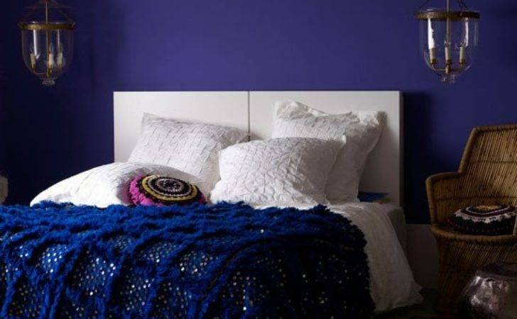 Navy Dark Blue Bedroom Design Ideas