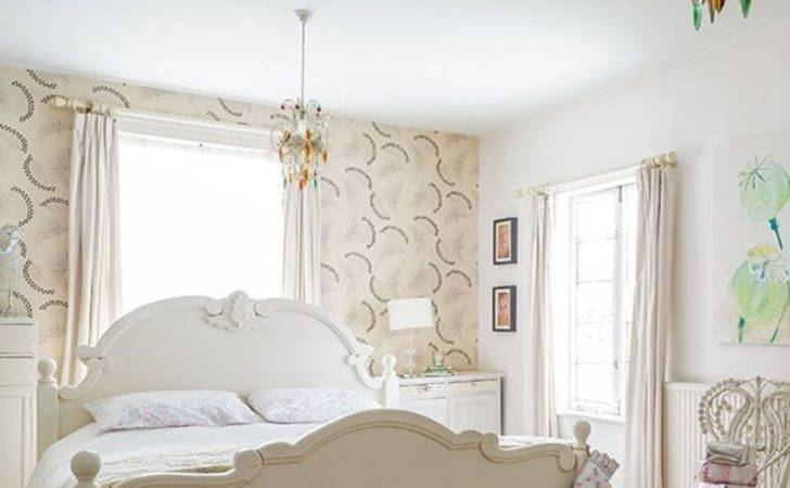 Neutral Bedroom Feature Decorating