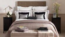 Neutral Hotel Chic Bedroom Decorating Ideas