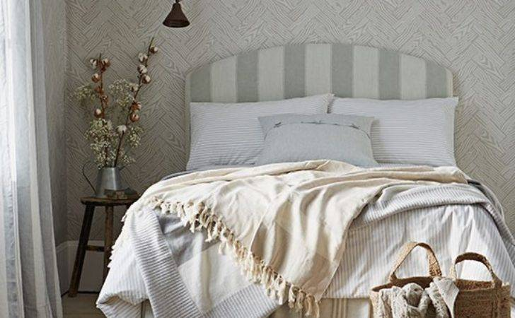 Neutral Modern Country Bedroom Decorating Housetohome