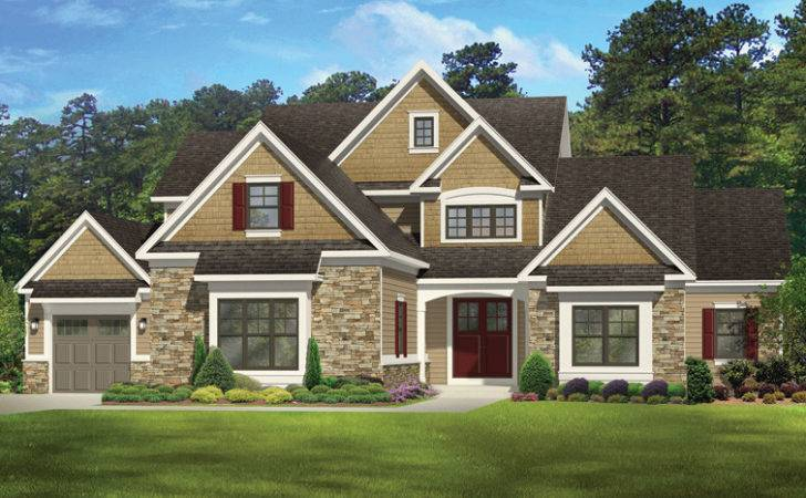New American Home Plans Designs