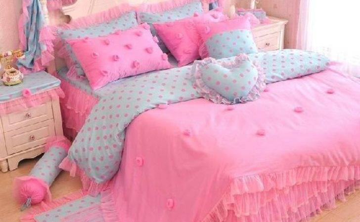 New Arrival Princess Style Romantic Lace Piece Bedding