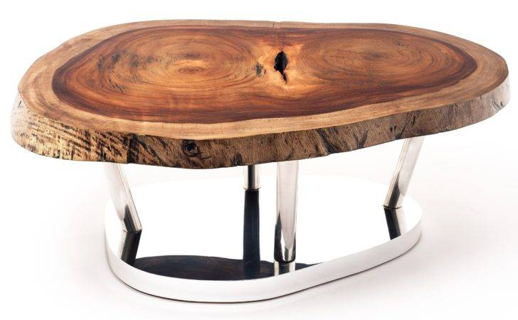 New Coffee Table Tree Trunk Base Ignite Show