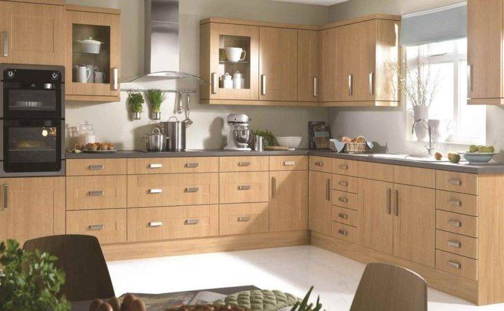 New Fitted Kitchen Units Shaker Oak Quality