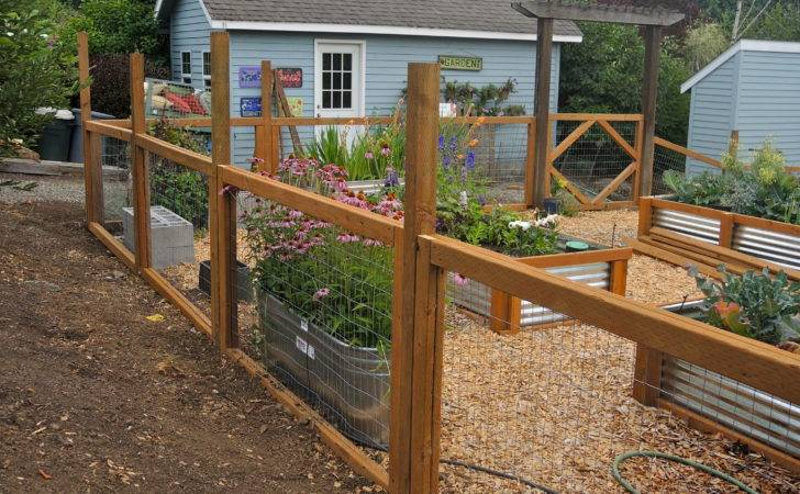 New Garden Fencing Blueberry Hill Crafting