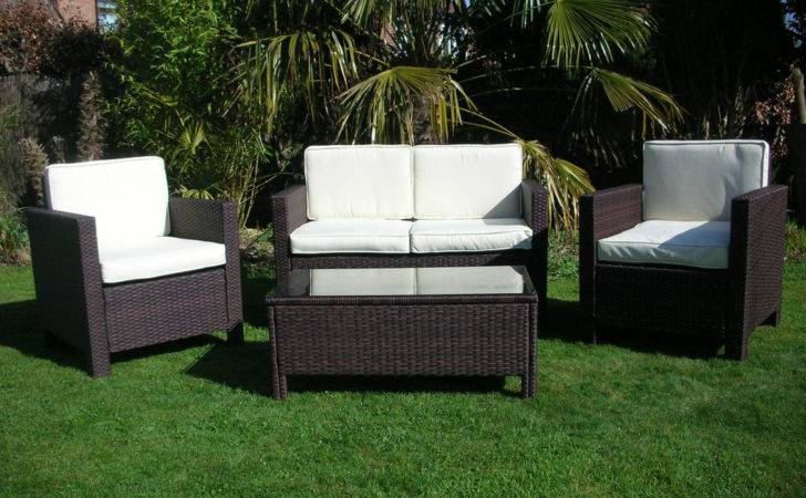 New Garden Rattan Wicker Outdoor Conservatory Furniture