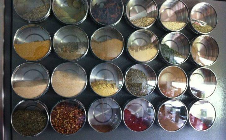 New Ikea Grundtal Stainless Steel Magnetic Containers