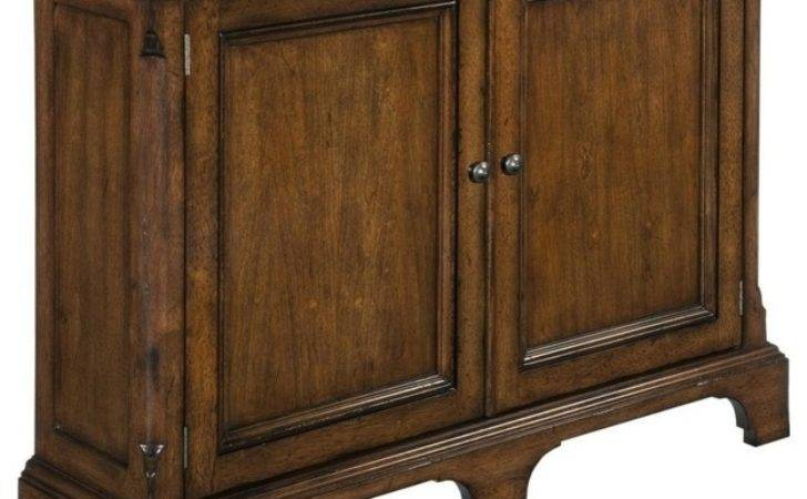 New Narrow Hall Cabinet Solid Wood Cherry Traditional