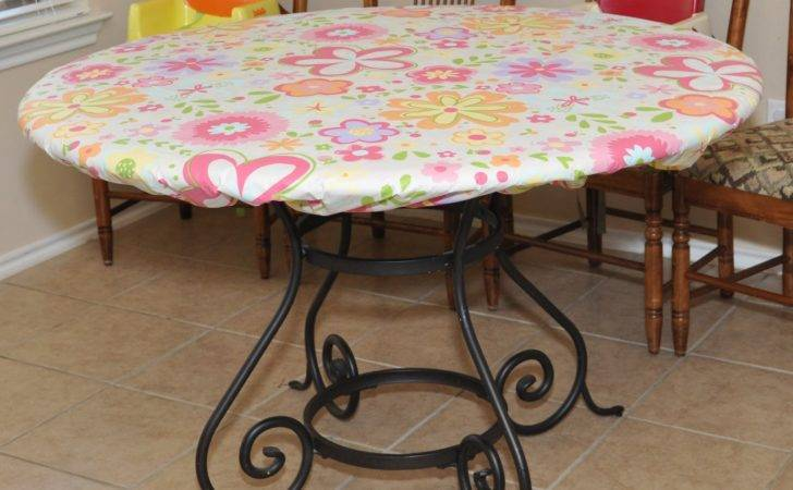 New Round Elastic Table Covers Appears Biz