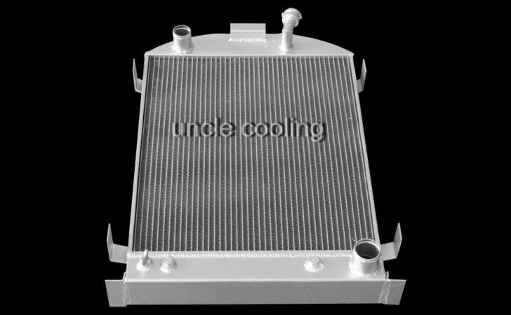 New Row All Aluminum Radiator Ford Model