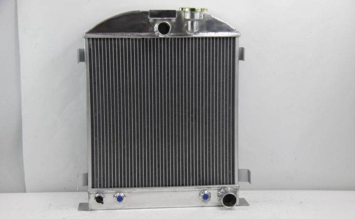 New Row Pass Ford Model Radiator Chevy