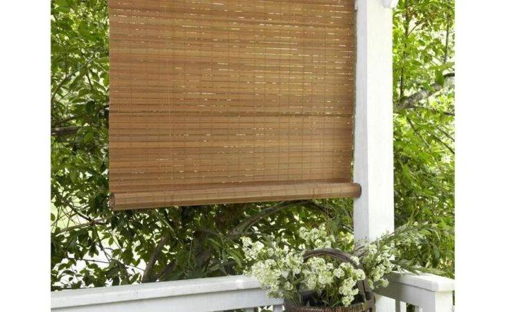 New Window Roll Patio Outdoor Bamboo Shade Blinds Porch