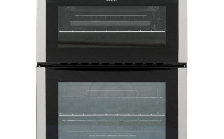 Newworld Built Gas Single Oven Double