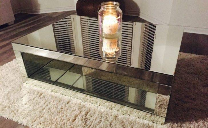 Next Mirrored Coffee Table Mae Range Excellent