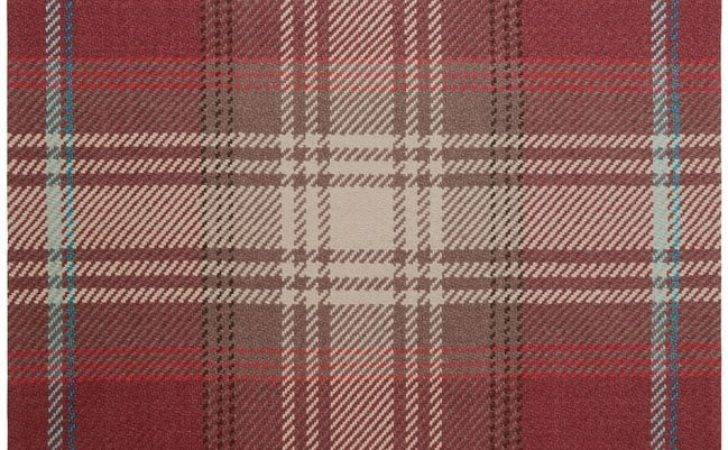 Next Stirling Check Rug Shopstyle Home