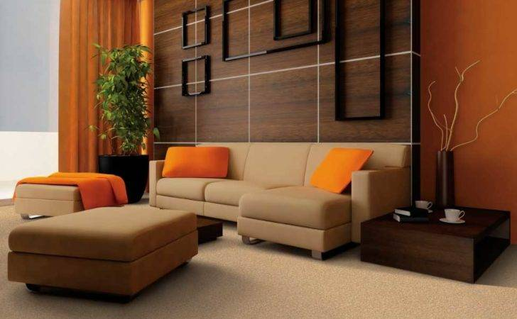 Nice Colors Living Room Walls Brown Furniture