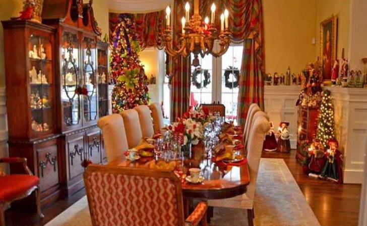 Nice Photos Christmasdiningtable Decor Dining Decorate