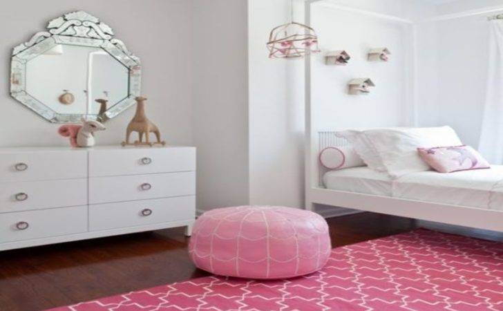 Nice Small Bedroom Designs Pink White Rug Girls
