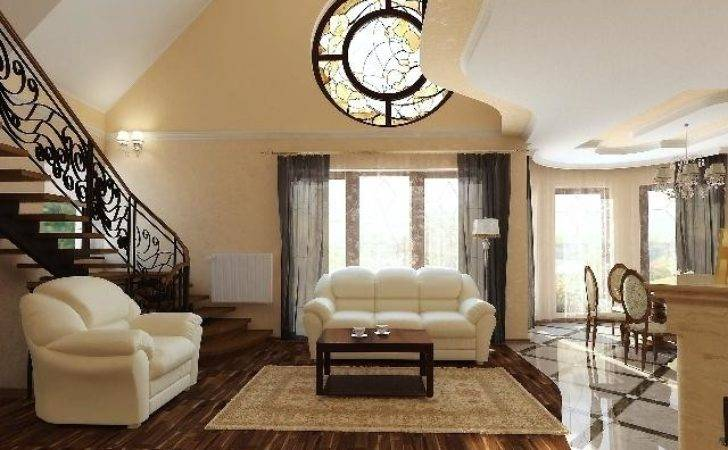 Nicely Decorated Living Room Photos