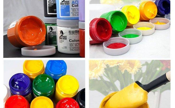 Non Toxic Odor Widely Used Acrylic Paint