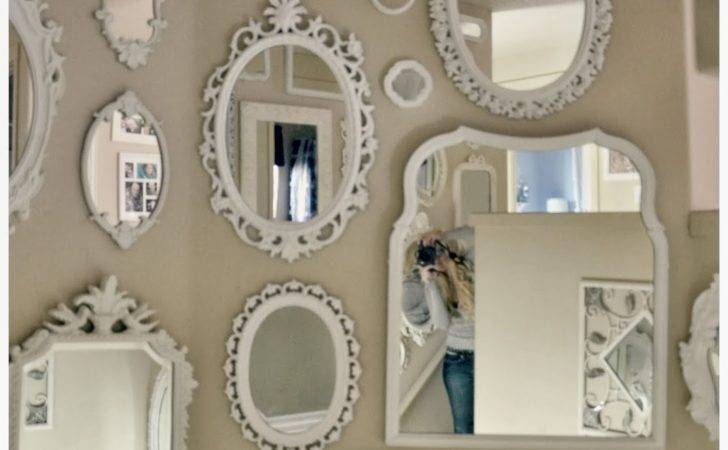 Not Shabby Chic Mirror Wall Almost
