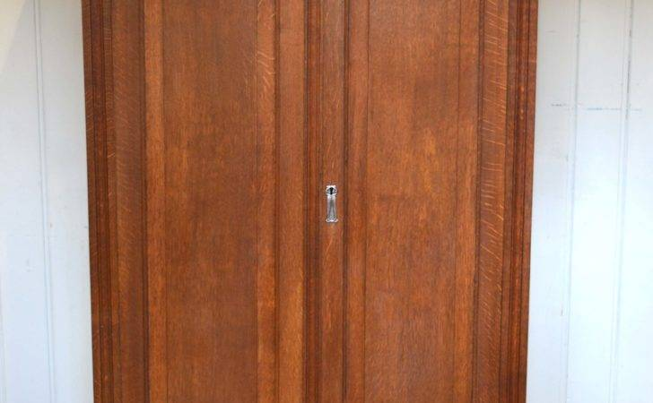 Oak Two Door Hall Cupboard Antiques Atlas