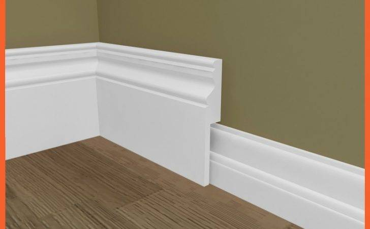Ogee Mdf Skirting Board Cover Over