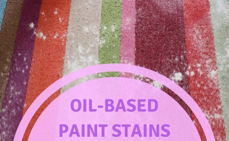 Oil Based Paint Stains Can Removed Flooring