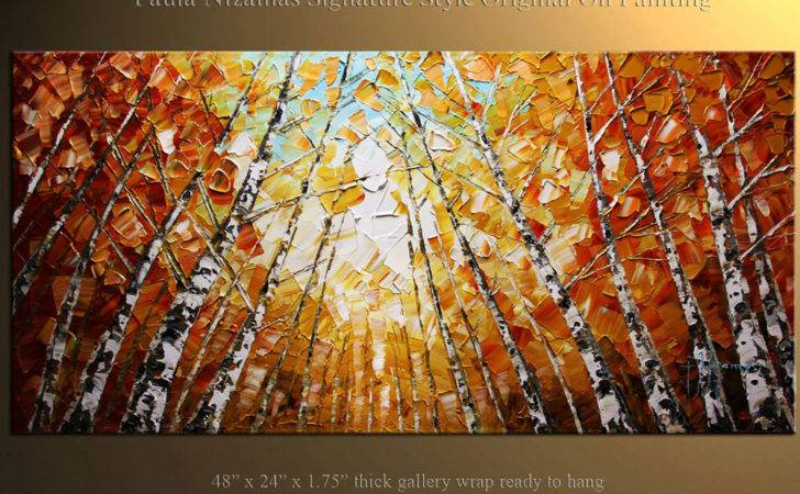 Oil Painting Ideas Paintings Birch Trees
