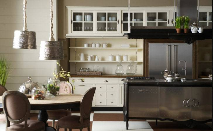 Old Town Country Style Kitchen