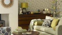 Olive Green Christmas Living Room Decorating