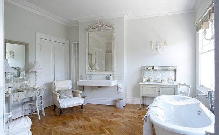 Once Daily Chic French Inspired Bathrooms