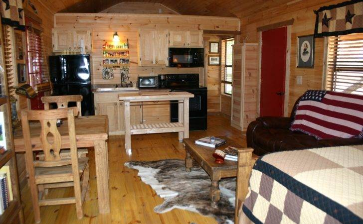 One Room Cabin Home