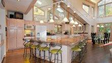 Open Kitchen Floor Plans Islands Home Design