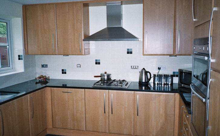 Open Shelving Glass Tile Kitchen Wall Just Decorate