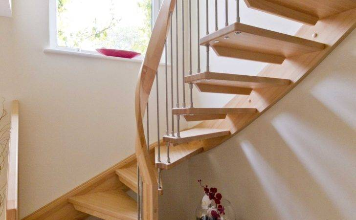 Open Staircase Design Tadley Hampshire Timber Stair