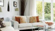 Orange Accents Living Room Housetohome