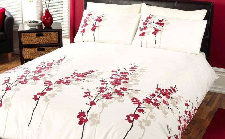 Oriental Flower Duvet Cover More Covers Availlable