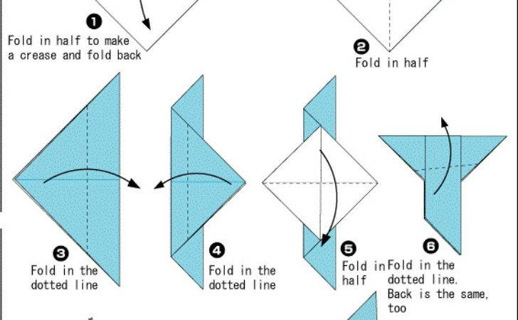 Origami Dove Printable Instructions Easy